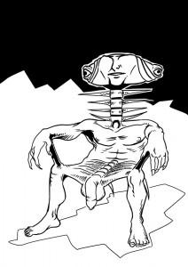 human-chair